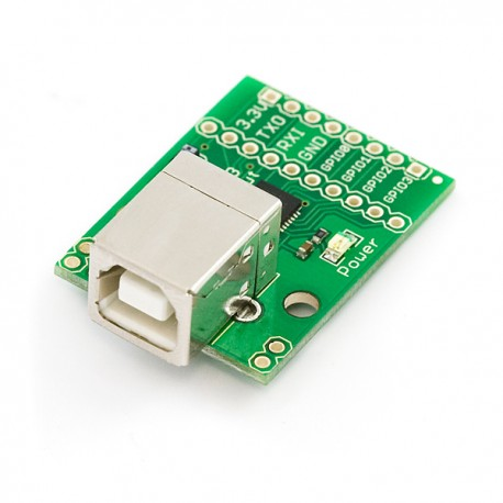Breakout Board for CP2103 USB to Serial with GPIOs