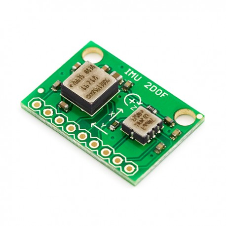 IMU Combo Board - 3 Degrees of Freedom – ADXL203-ADXRS610