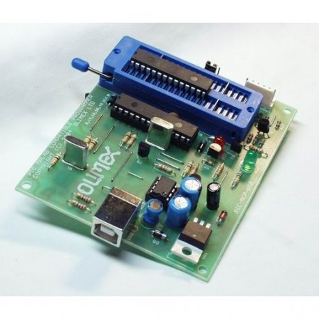 MPLAB Compatible ZIF Programmer - USB Powered