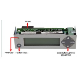 16x2 LCD Message Module
